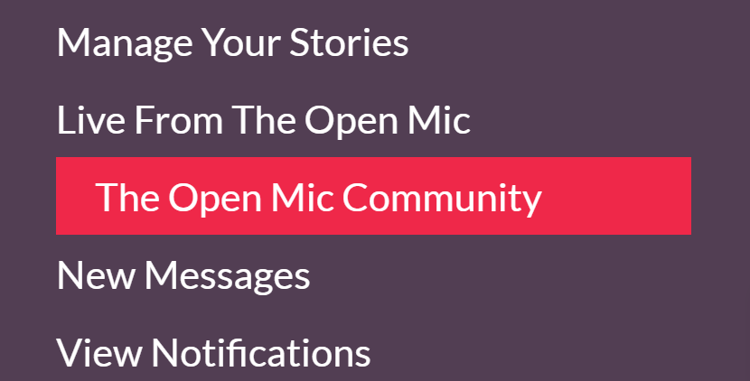 Developer Diary 14 How To Find Your Friends And Colleagues On The Open Mic - Community In The Menu (find translators on theopenmic.co)