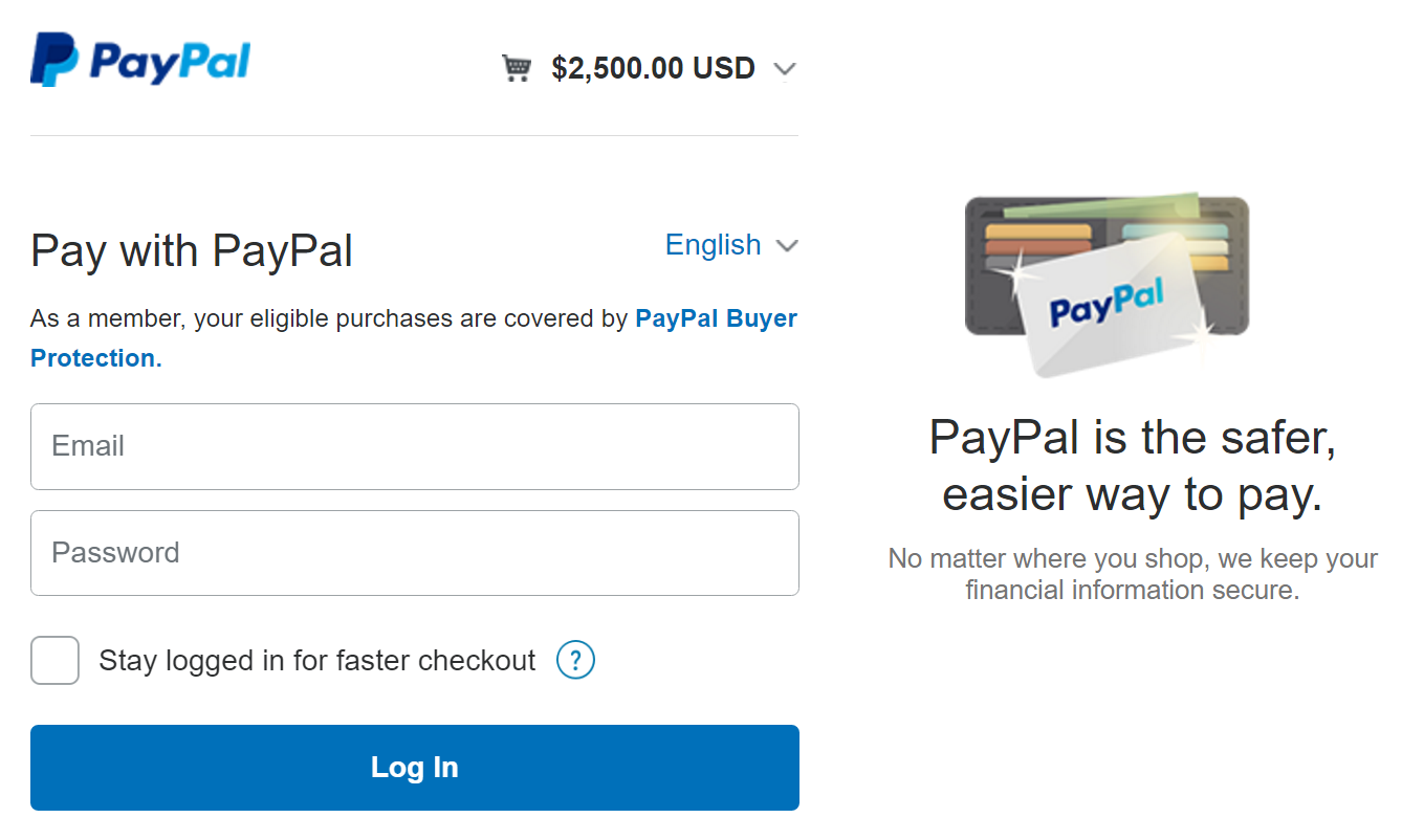 Pay with PayPal on The Open Mic (find translators on theopenmic.co)