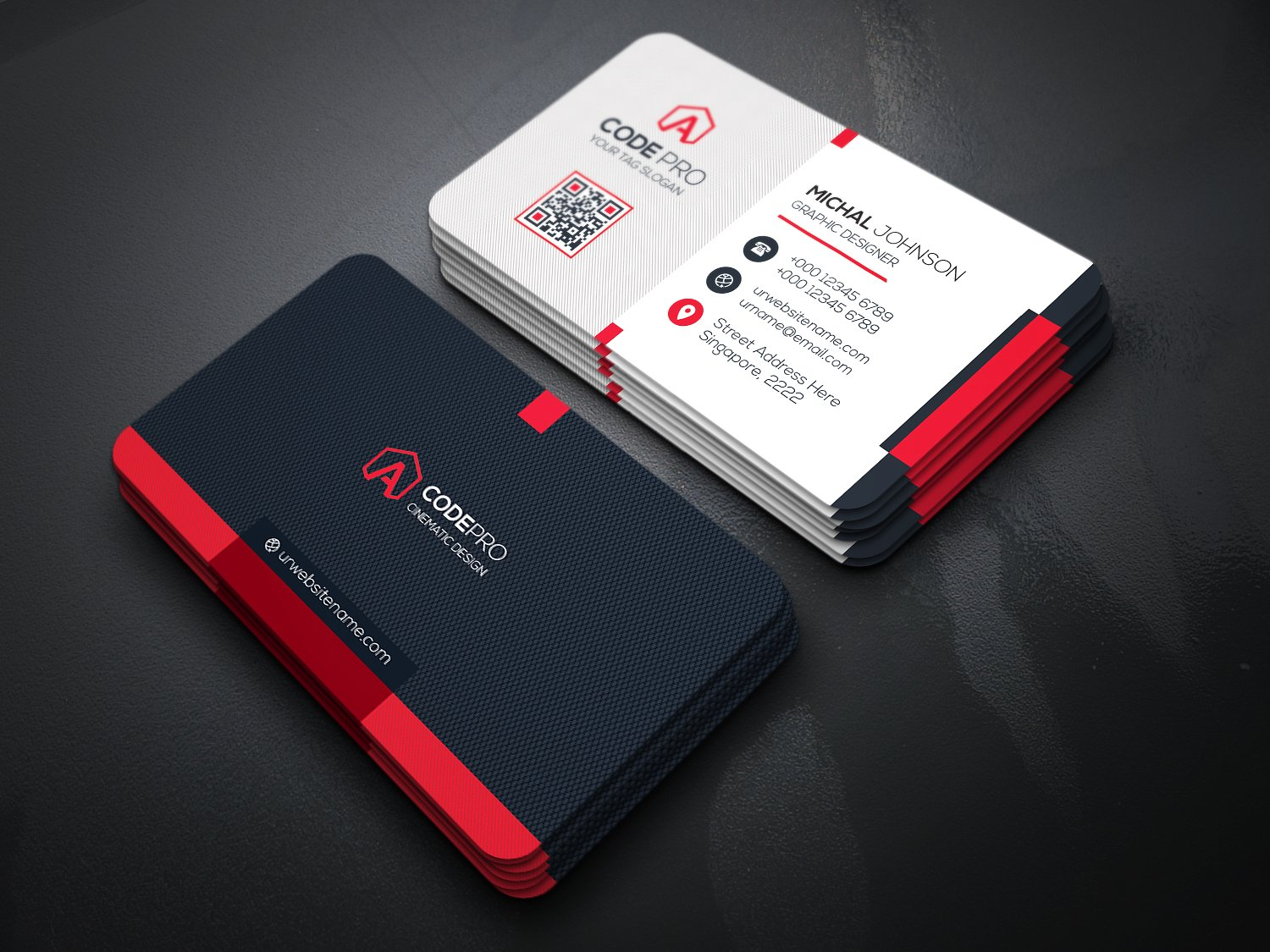 How To Create A Perfect Business Card For A Freelance Translator - Cool business cards templates