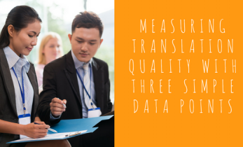 Measuring Translation Quality with Three Simple Data Points
