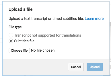 How to translate Youtube videos?