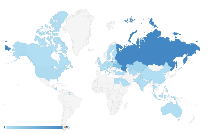 Google Analytics Geo