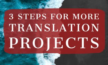 How we get more translation projects